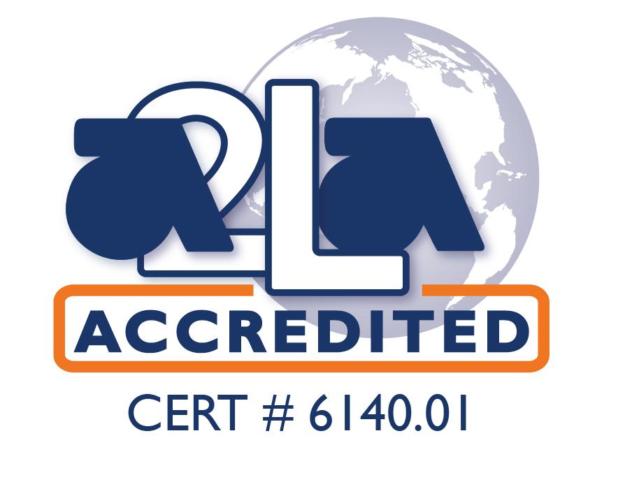 A2LA accredited symbol.colored 6140.01-01